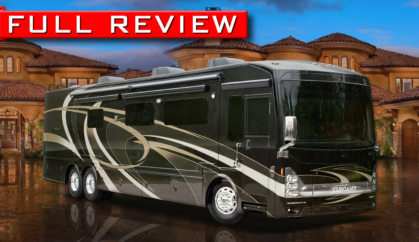 2015 Thor Tuscany Luxury Motor Homes Rv Review
