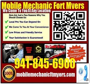 Mobile Mechanic Fort Myers Fl Auto Car Repair Service